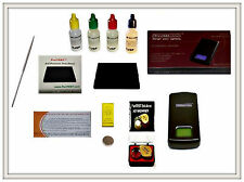 Gold Acid Testing Kit Electronic Tester Scale Digital Test 14K 18K Coins Rings