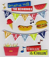 *BLOCK PARTY* K & Company Life's Little Occasions Stickers - Scrapbooking/Cards