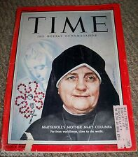 TIME MAGAZINE Mother Mary Columba Apr. 11, 1955