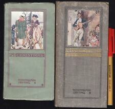 2-for-1 First Editions WASHINGTON IRVING The OLD CHRISTMAS EVE Rare + Old Xmas