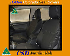 Seat Cover Holden Colorado Heavy Duty Neoprene FRONT Standard Design