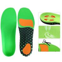 Women Men Orthotic Sport Running Insoles Insert Shoe Pad Arch Support Cushion