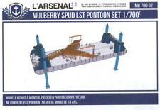 L'Arsenal Models 1/700 MULBERRY PORT SPUD LST PONTOON Resin Set