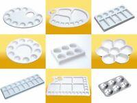 Jakar Artists Paint Palettes - Plastic Ceramic Aluminium - Oil Acrylic Water