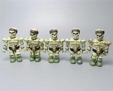 """#N6 ~ lot of  5 Mega Bloks Pirates of the Caribbean action mini figure 2"""""""