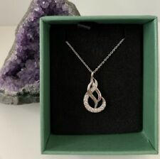 925 Sterling Silver Necklace New