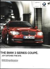 BMW 3 SERIES SALOON CAR  SALES BROCHURE JULY 2012  FOR 2013 MODEL YEAR