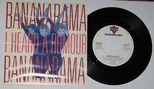 """Bananarama - Canadian 45 with picture sleeve - """"I Heard A Rumour"""" - NM/VG+"""