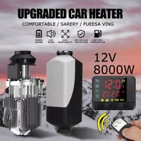 Diesel Air Heater Car Parking Heater 12V 8KW LCD Display Remote Control Kit