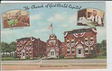 1940's The Church of God Bible Place in Cleveland, TN Tennessee PC