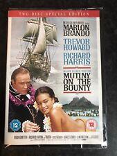 MUTINY ON THE BOUNTY Marlon Brando (2 DVD EDITION) New Sealed UK Region 2