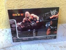 WWE KEVIN NASH ROYAL RUMBLE 2002 FLEER COLLECTOR TRADING CARD #16 & HOLDER