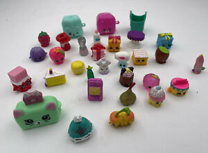 Vintage Shopkins Toys Lot Of 30 Pieces Boys Girls Toy Collectibles