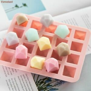 3D Polygon Diamond Silicone Mold Cake Chocolate Molds Fontant Soap Mould Supplie