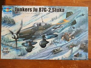 Trumpeter 1:32 Junkers Ju 87G-2 Stuka Model Aircraft Kit