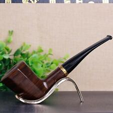 New Hot Smoking Pipe Portable Lovely Pipe Tobacco Wooden Pipes Men Gifts Prize