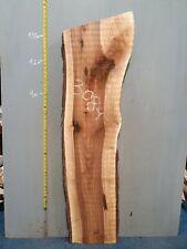 Waney Edge Live Edge Walnut Slab Board Kiln Dried Hardwood 1430 x 300-410 x 50mm