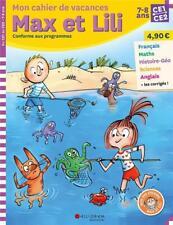 Max et Lili ; CE1-CE2 ; mon cahier de vacances