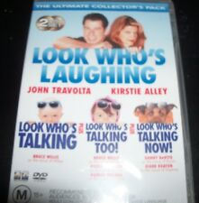 Look Who's Talking / Too! / Now (John Travolta Kirstie Alley) (Au Reg 4) DVD NEW