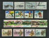 MNZ61) New Zealand 1984 Stamp Sets CTO/Used