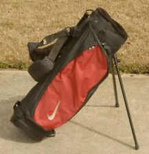 Nike Golf Junior's Carry Stand Bag - 4-way - Dual Izzo Strap