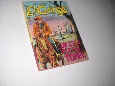 EL GRINGO N. 5 UN 'ESCA PER DUE TOMBE MAX BUNKER 1977 No Diabolik !!!