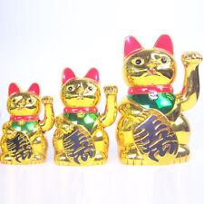 Glückskatze Winkekatze Glücksbringer Deko Katze Maneki Neko Feng Shui Dekor