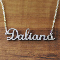 Personalized Name Necklace Custom Nameplate Necklace Heart Necklace Gift for Her