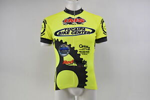 Verge V Gear Yucaipa Bike Men's S/S Cycling Jersey, Neon Yel, FZ, 2XL, Brand New