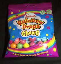 2 X Swizzels Rainbow Drops Chews New A rainbow of chewy fruitiness 135g