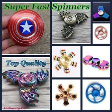 New Version Aluminum Tri-Spinner Fidget Toy Ceramic Edc Hand Finger Spinner
