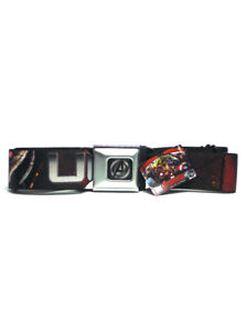 Avengers Seatbelt Belt Age Of Ultron Super Heroes Marvel Brand New With Tags