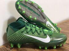 Men's Sz 10.5 Nike  Vapor Untouchable 2 Football Cleat Green Voltage 824470-313