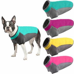 Warm Fleece Small Dog Jacket Vest Puppy Cat T-shirt Sweater Coat Pet Clothes New