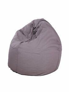 Bean bag Cover Cotton chair without Bean Grey Home decor for luxuries gift