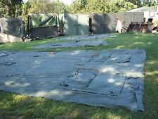 MILITARY 16x16 FRAME TENT SURPLUS CAMPING HUNTING US  ARMY ..NO FRAMES INCLUDED