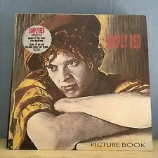 SIMPLY RED Picture Book 1985 UK Vinyl LP EXCELLENT CONDITION   B