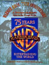 WARNER BROS. 75 ANNIVERSARY - A TRIBUTE IN MUSIC - 248 PAGE SONGBOOK