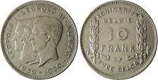 BELGIQUE  , LEOPOLD  I   II  ET  ALBERT    10  FRANK  BELGIE  1830-1930  2  RARE
