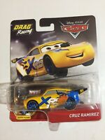 "Disney/Pixar~Cars~""Cruz Ramirez""~Drag Racing~XRS~Moving Pistons~2019~HTF~ New"