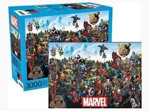3000 piece Jigsaw Puzzle MARVEL Universe Cast Licensed Superheroes & Villians