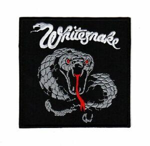 Whitesnake Patch Hard Rock Heavy Metal Band