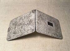 Antique Napier Rare Sterling Silver Double Sided Eggshell Enamel Cigarette Case