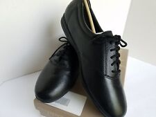Easy Spirit Women's ES Motion Lace-Up Black Leather Oxford Shoes Size 9.5 EE