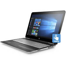 "HP 15t Touch-Screen Laptop 15 15.6"" i7-7700HQ Quad 16GB 128GB SSD + 1TB 2GB 1050"