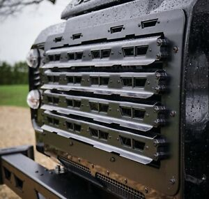 Land Rover Defender Stainless Steel Renegade Front Grille - Uproar 4x4