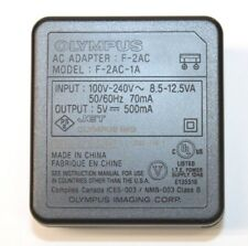 Olympus F-2AC AC Power Adapter Charger 5V 500mA for TG-310 STYLUS-8010 FE-4020