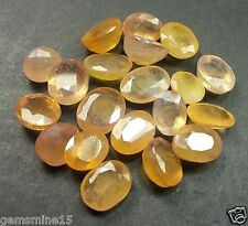 77.20 CT Yellow Sapphire 20 Pcs Natural Awesome Quality Wholesale Lot Gems W971