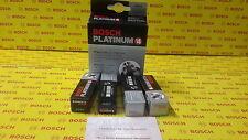 4X BOSCH PLATINUM+4 Platinum Spark Plugs 4457  (  set of 04 plugs)
