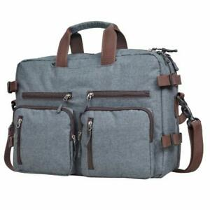 Laptop Bag for Men-Convertible Backpack for Office and Travel Multiple Carrying